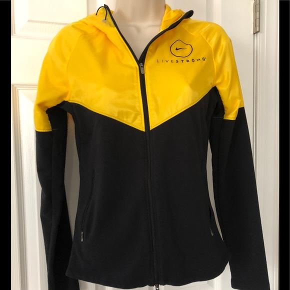 658c5cf4e Nike Tops | Womens Livestrong Hoodie Jacket | Poshmark